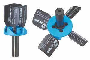 Chip Blower Compatible with Hydraulic and Milling Chucks
