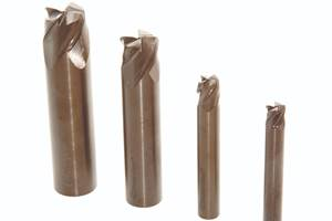 Solid Ceramic Endmills Execute High Speed and Performance