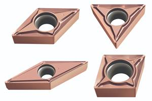 Cermet Turning Inserts Delivers Exceptional Surface Finish and Reduced Vibration Tendency