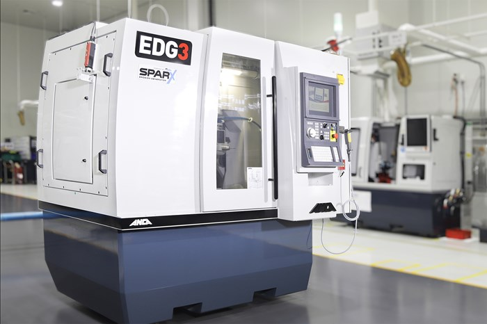 Rotary EDM Machine Decreases PCD Tool Cycle Time By 50%