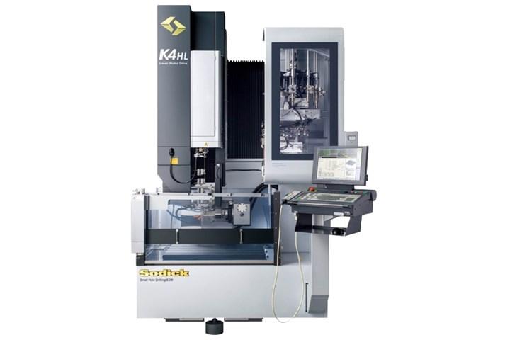 Sodick K4HL machine.