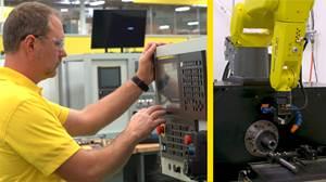 CNC and Robotics Integration Simplifies Operations