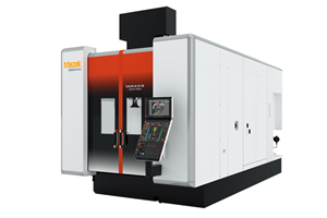 Enhanced Vertical Machining Center Efficiently Machines Multiple Workpiece Surfaces