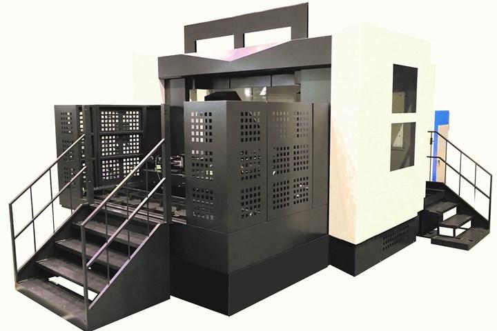 Niigata HN80E-5X horizontal machining center.