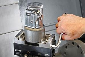 Manual Machine Vise Handles Prismatic and Round Parts