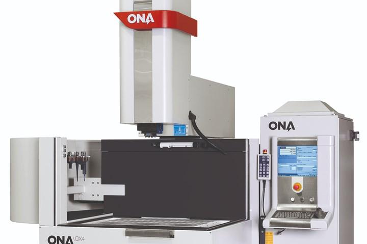 ONA EDM machine.