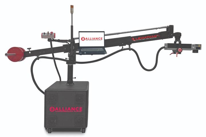 Alliance IPG Fiber Laser System.