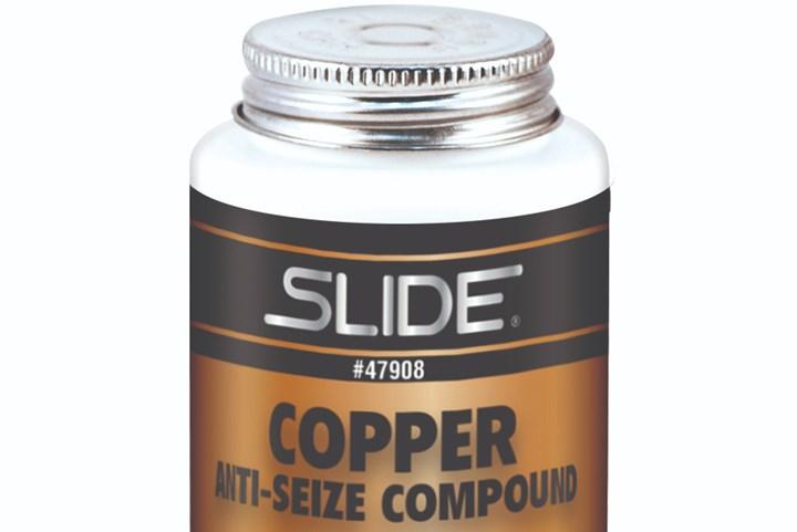 Slide Products' Copper Anti-Seize Compound.