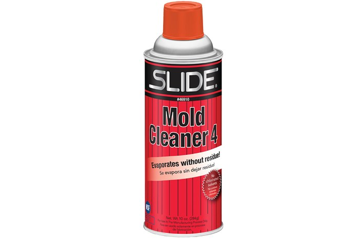 Mold Cleaner Line Eliminates Chlorinated Solvents