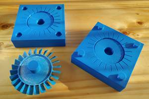 3D-Printed Mold and Part Polishing Service Advances AM Geometry and Material Capabilities