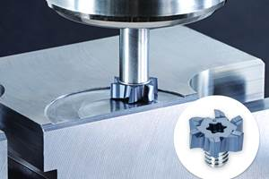 VFM Milling Head Enables Face Milling with Exchangeable-Head End Mills