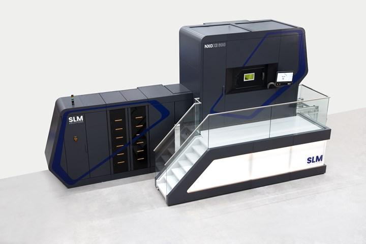 SLM Solutions 12-laser NXG XII 600 machine.