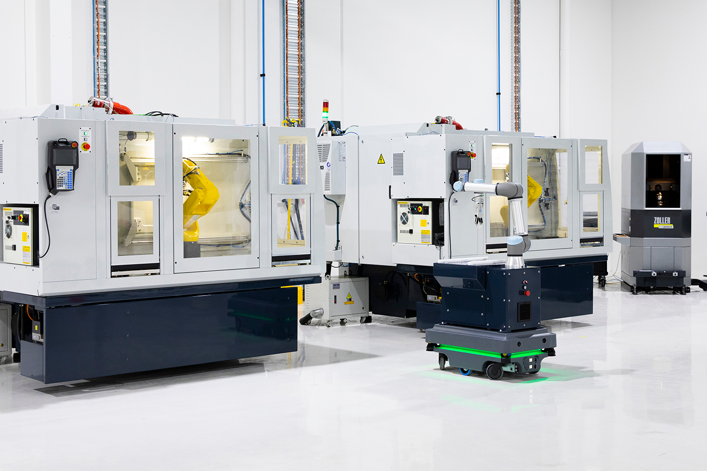 Integrated Manufacturing System Connects Process Platforms, Streamlines Cutting Tool Production