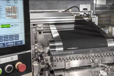 Dürr Megtec sistema único para recubrir electrodos de iones de litio en baterías