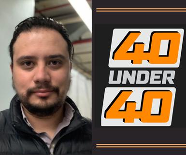 Juan Milián, ingeniero mexicano en los Estados Unidos, en la lista de 40 Under 40