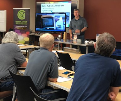 Technical training seminars are one of many educational programs to benefit from CCAIFEF's support and funding.