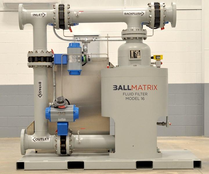 Millhous ballmatrix electromagnetic iron separator