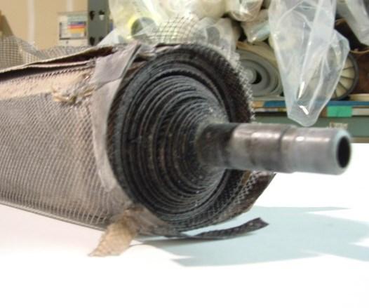 telescoped UF element, ecoat, ecoating