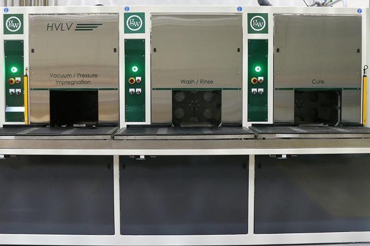 HVLV Vacuum Impregnator