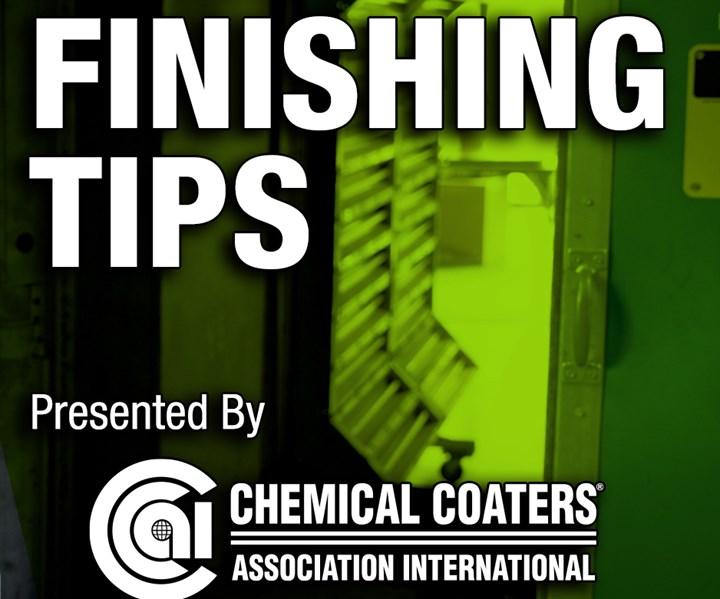 finishing tips, surface finishing, surface coating technology, chemical coatings, powder coating, liquid coating