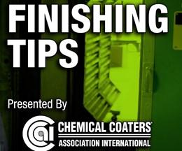 CCAI Announces Finishing Tip Tuesday Video Series