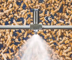 Exair No-Drip Air Atomizing Nozzles Conserve Liquids