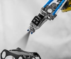 Topfinish Airspray Gun Offers Minimal Overspray