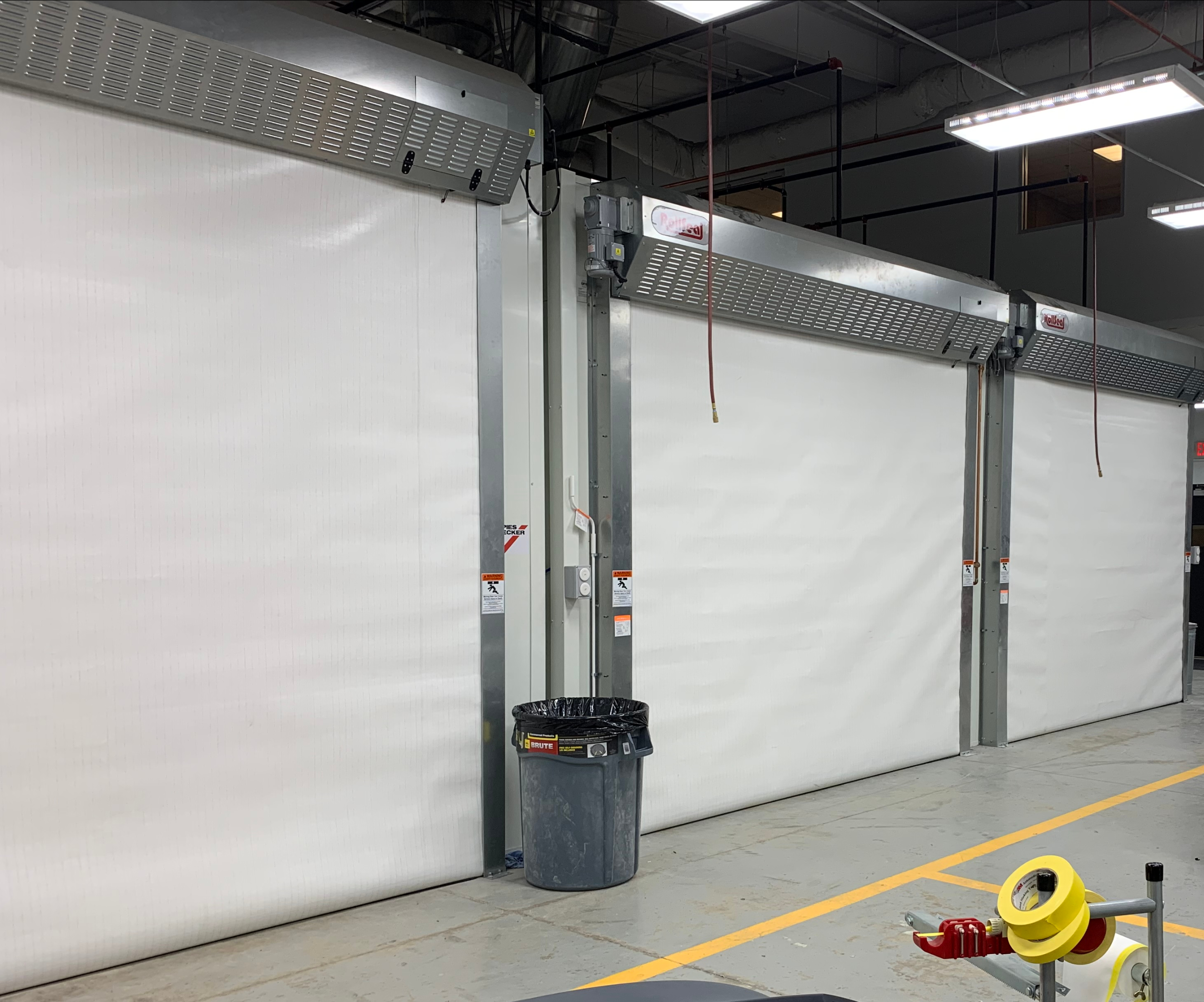 RollSeal Manufactures High-Performance Roll-up Doors