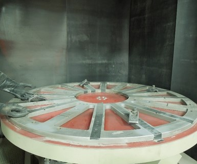 Inside the Clemco Blasting Machine