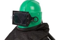 Clemco Helmet and Respirator