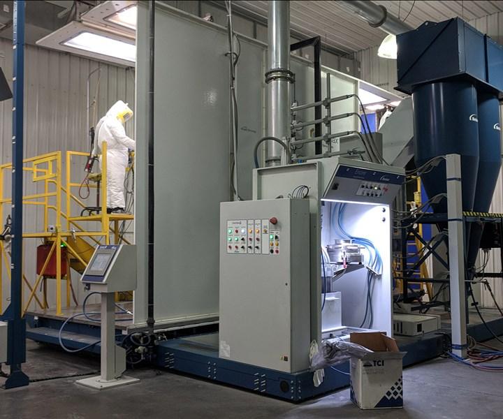 powder coating, powder coating industry, finishing