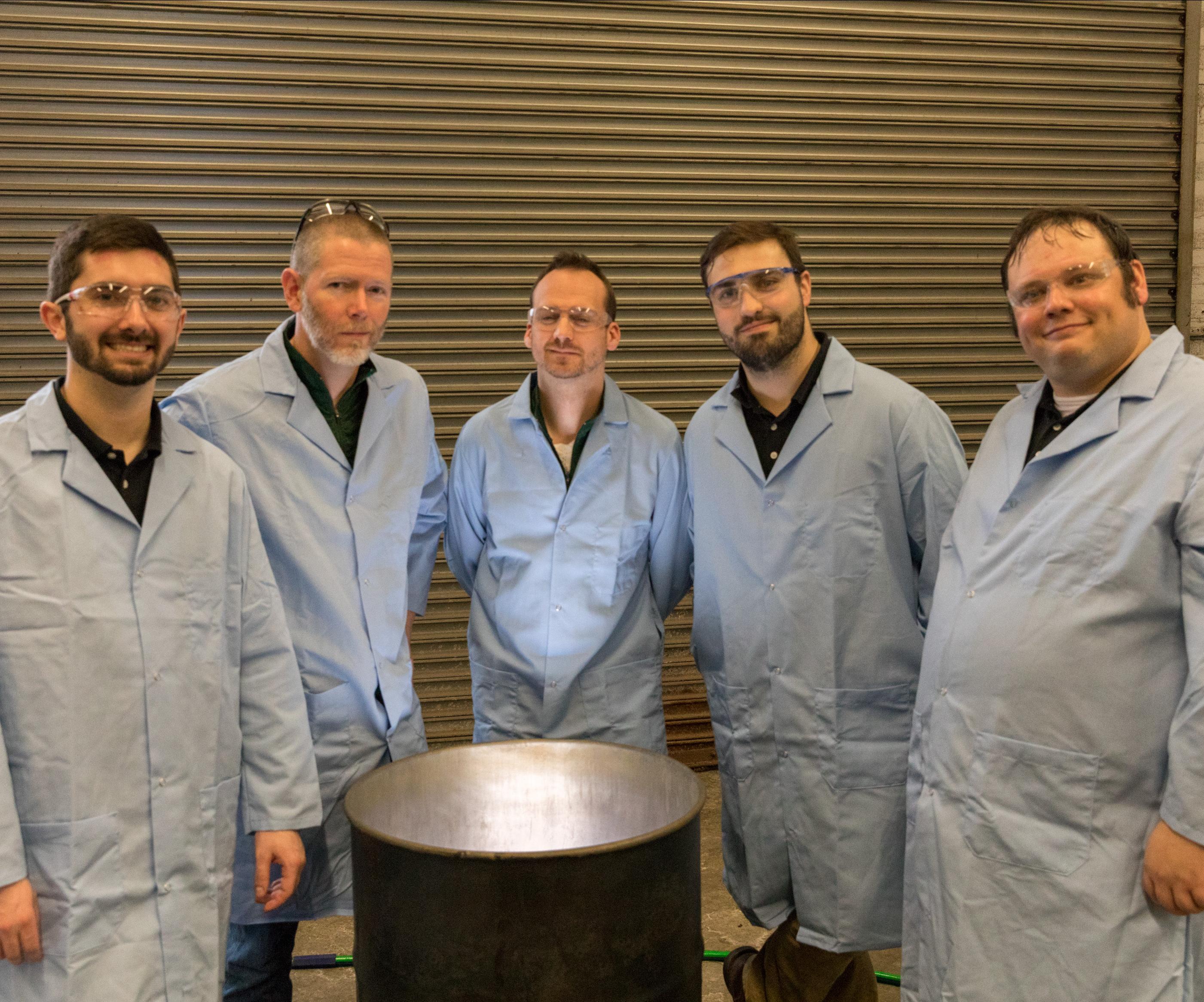 Aluminum Electroplating Process Reaches 100-gallon Milestone