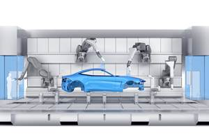 Paint Booth of the Future Concept from Dürr