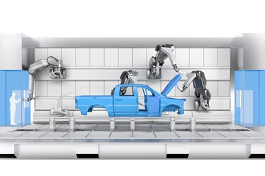 EcoProBooth paint booth is designed for a mix of bodies from compact cars up to medium-sized SUVs