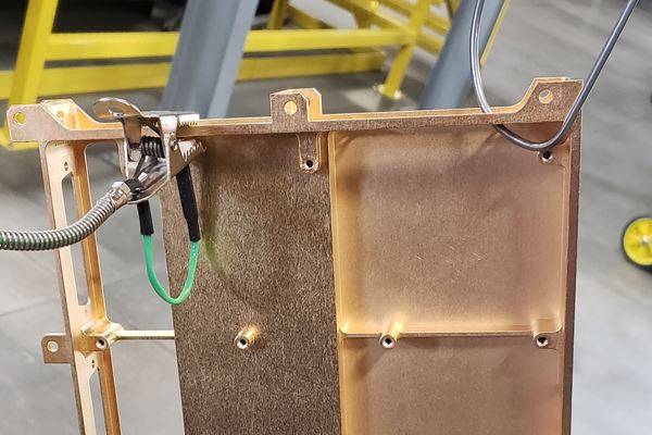 Andrews Powder Coating Earns Space Flight Qualification image