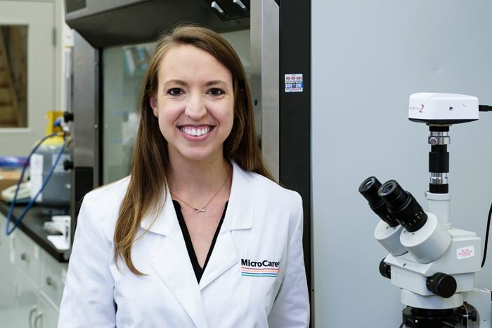 Video: An Interview with Emily Peck, Laboratory Manager