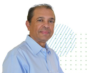 A photo of Samir Davé, Brown and Caldwell's new senior director of client services for industrial water