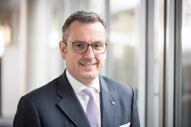 A photo of Dr. Jochen Weyrauch, Dürr's deputy CEO