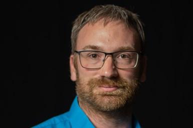 Senior R&D chemist Matthew Wojcik
