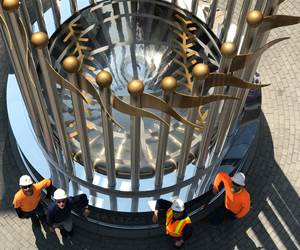 Wolkerstorfer Passivates Giant World Series Trophy