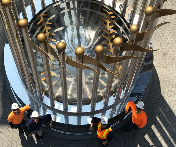 Wolkerstorfer Passivates Giant World Series Trophy image