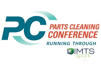 Parts Cleaning IMTS Spark logo