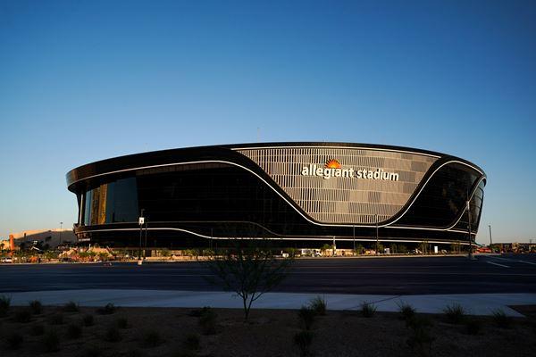 PPG Coatings Used for Raiders' Allegiant Stadium image