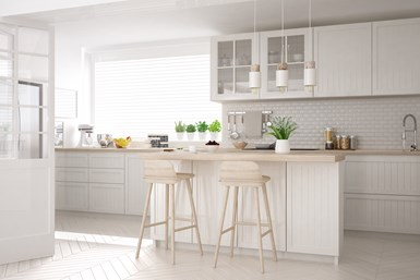 A photo of a kitchen with appliances coated in IFS PureClad FFT