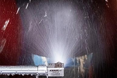 <div>EXAIR's FullStream Liquid Nozzle Simplifies Conic Spraying</div>