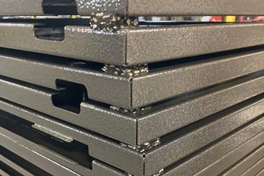 Frank Lowe Wow Pads separating metal cargo