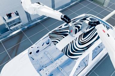 ABB Robotics' PixelPaint