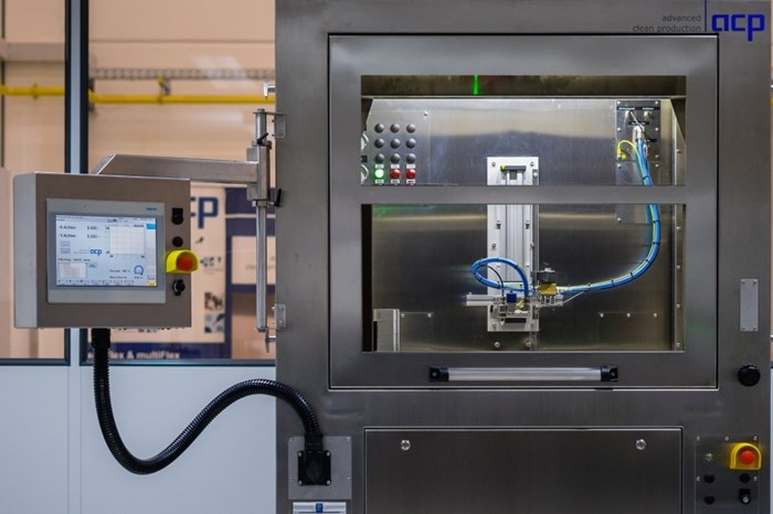 ACP Systems' JetStation-HP Uses QuattroClean For Part Purity