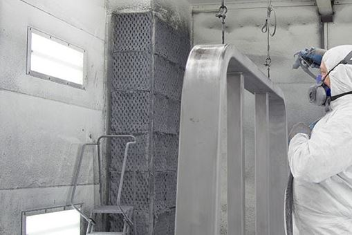Paint Booth Exhaust Filter Disposal image