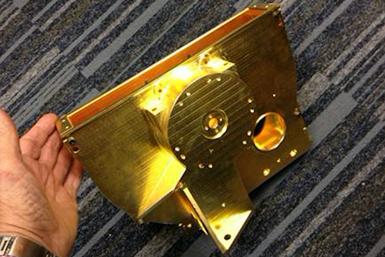 gold plating, space exploration, Webb telescope, Epner Technology